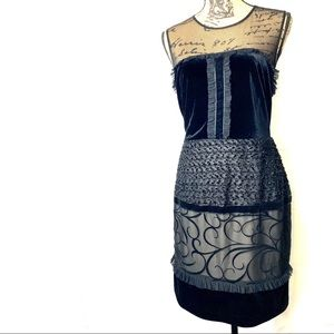 SL Fashions beautifully detailed lil black dress.